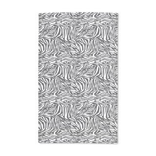 Zebra Black and White Hand Towel (Set of 2)