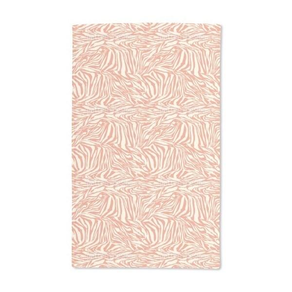 Zebra Ethno Hand Towel (Set of 2)
