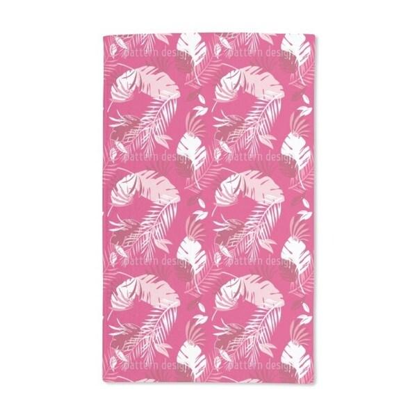 Honolulu Pink Hand Towel (Set of 2)