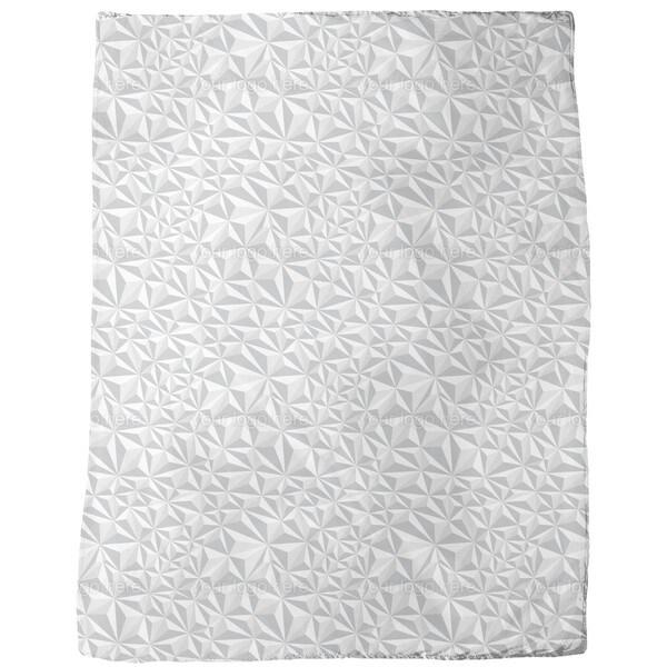 Paper Geometry Fleece Blanket