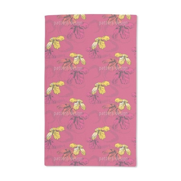 Orchid Pink Hand Towel (Set of 2)