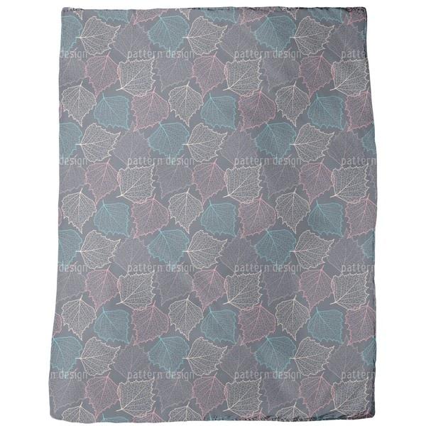Autumn Thoughts Fleece Blanket