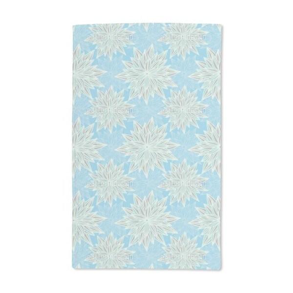 Fantasy Blue Hand Towel (Set of 2)