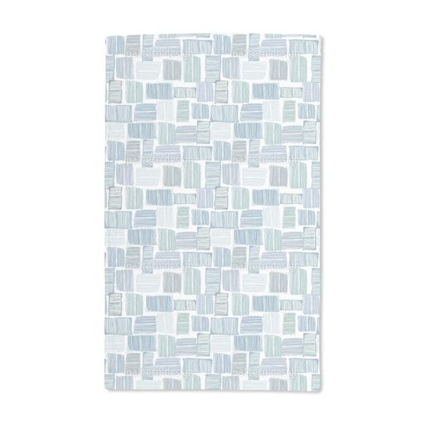 Checks in Stripes Hand Towel (Set of 2)