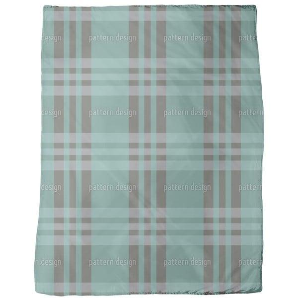 Aberdeen Tartan Verde Fleece Blanket