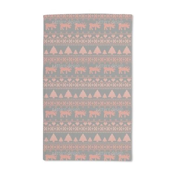 Norwegian Winter Hand Towel (Set of 2)
