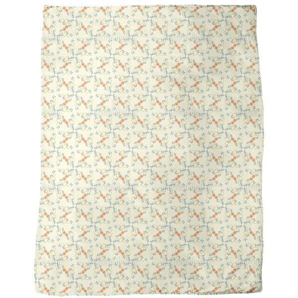 Spring Buds Fleece Blanket