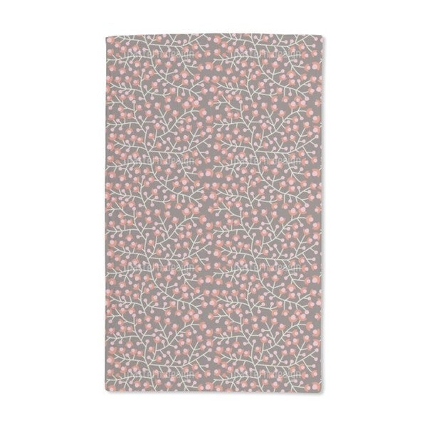 Nordic Floral Hand Towel (Set of 2)