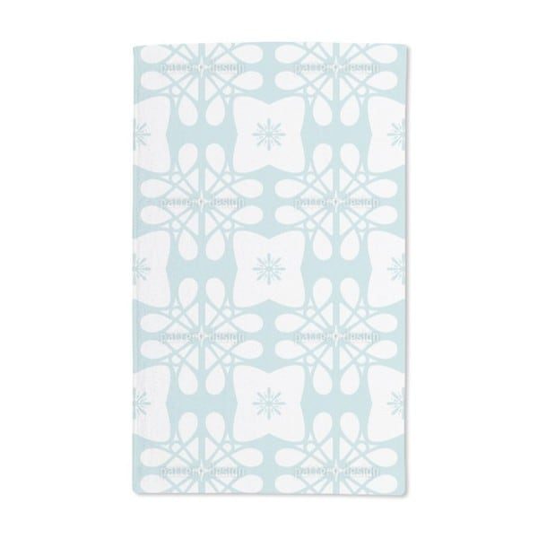 Icy Flower Hand Towel (Set of 2)