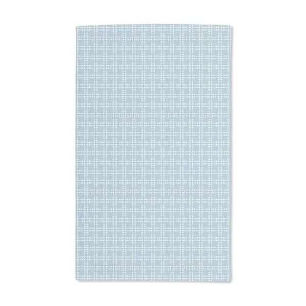 Powder Blue Hand Towel (Set of 2)