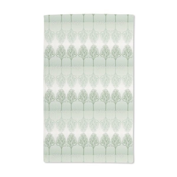 Alley Green Hand Towel (Set of 2)
