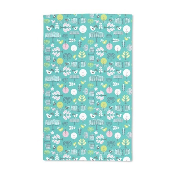 Forest Glade Hand Towel (Set of 2)
