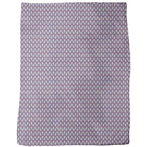 Vintage Drops Fleece Blanket