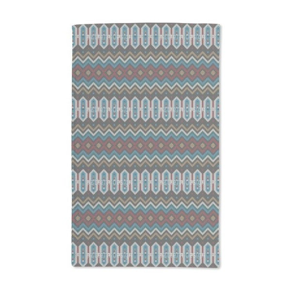 Knitted Ethno Hand Towel (Set of 2)