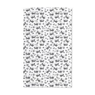 The Black Cat Mousy Hand Towel (Set of 2)