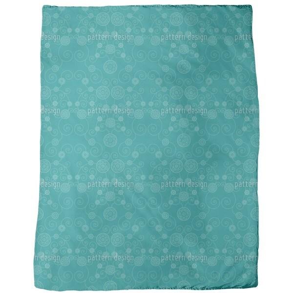 Irana Petrol Fleece Blanket