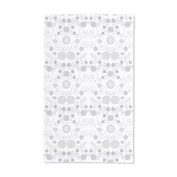 Irana in the Snow Hand Towel (Set of 2)