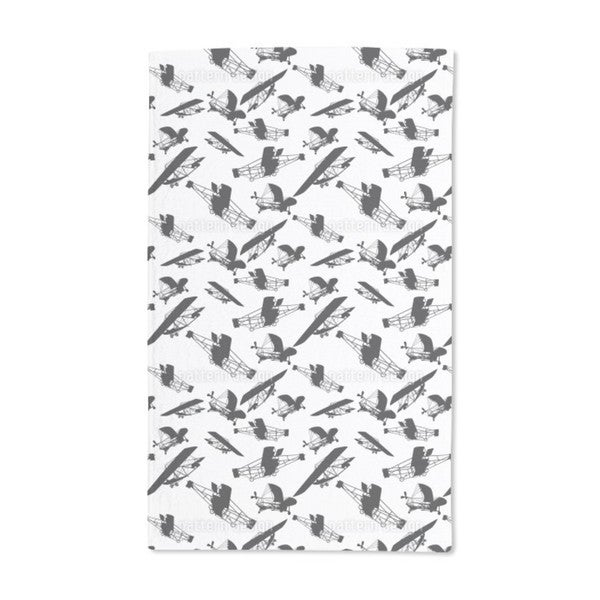 The Planes of the Wright Brothers Hand Towel (Set of 2)