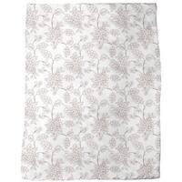 Bouquet Outlines Fleece Blanket