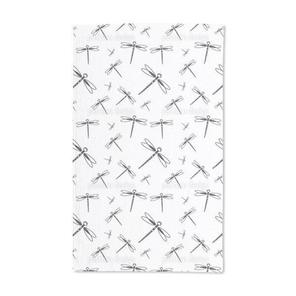 Dragonfly Swarm Hand Towel (Set of 2)
