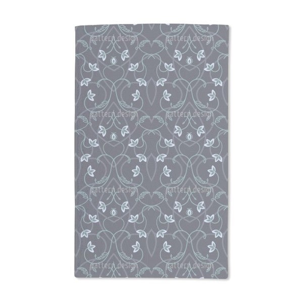 Gothic Flower Fantasy Hand Towel (Set of 2)