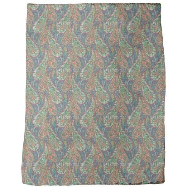 Filigree Paisley Fleece Blanket