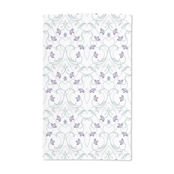Flowers on the Gothic Gate Hand Towel (Set of 2)
