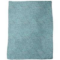 The Mermaids Gentle Swell Fleece Blanket