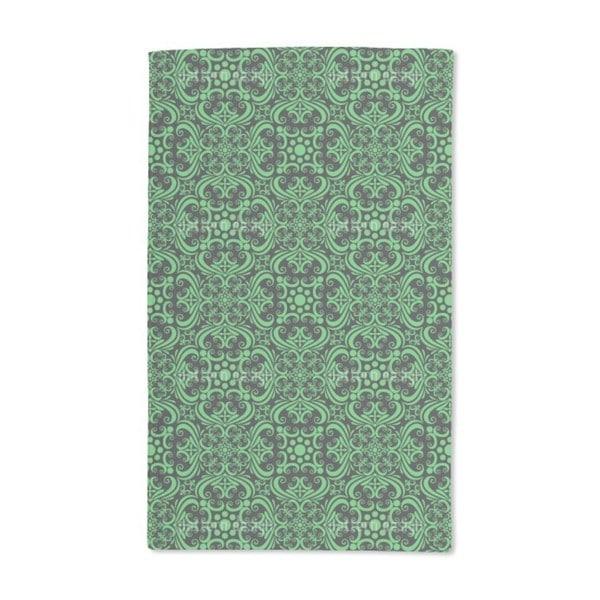 Green Romance Hand Towel (Set of 2)