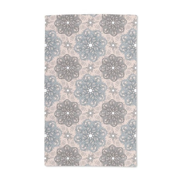 Flowers From Fantasia Hand Towel (Set of 2)