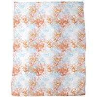 Coral Garden Fleece Blanket
