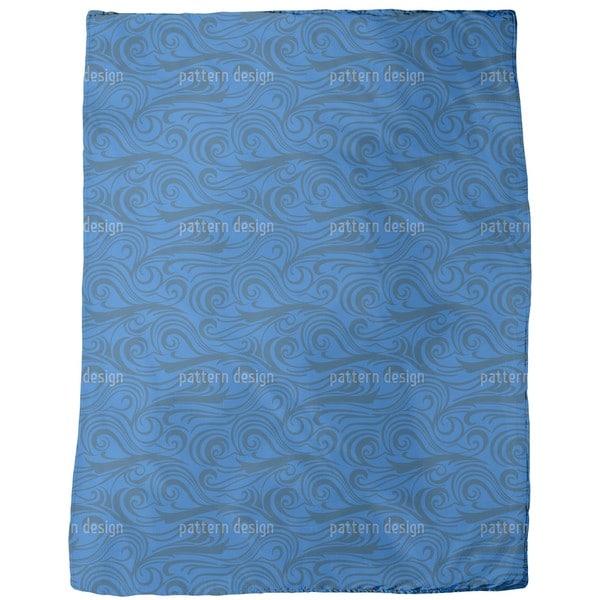 Brisk Waves Fleece Blanket