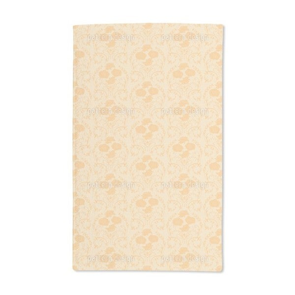 Rose Orange Hand Towel (Set of 2)