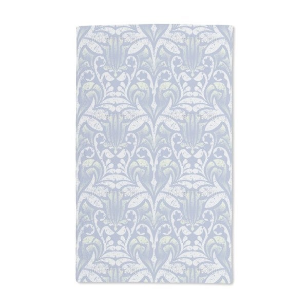 Damasko Blue Hand Towel (Set of 2)