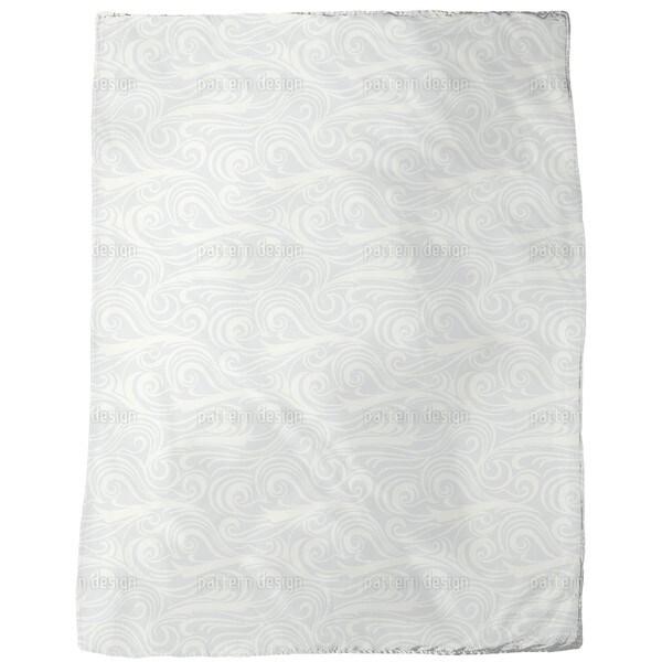Brisk Waves Light Fleece Blanket