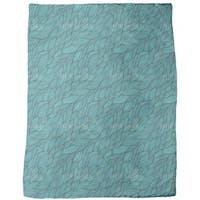 Rusalkas Braided Hair Fleece Blanket