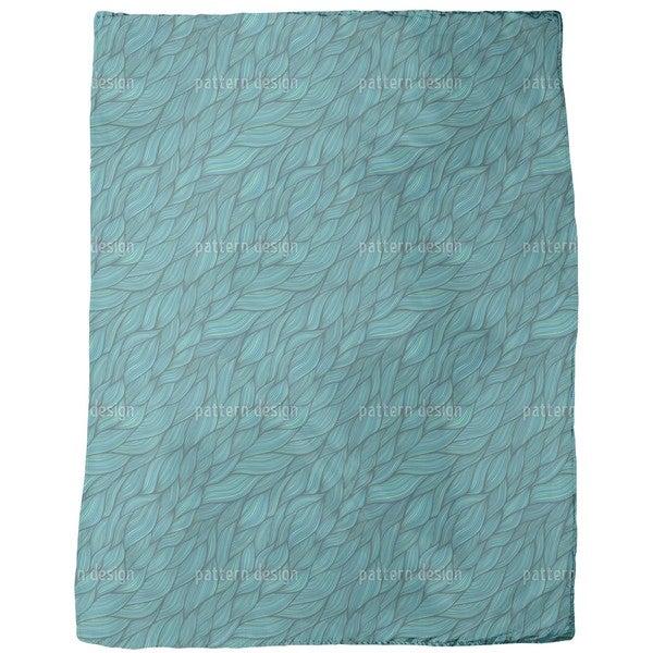 Rusalkas Braided Hair Fleece Blanket