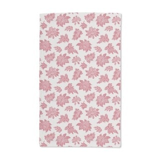 Baroque Bloom Red Hand Towel (Set of 2)