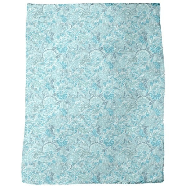 Frostwork Fantasies Fleece Blanket