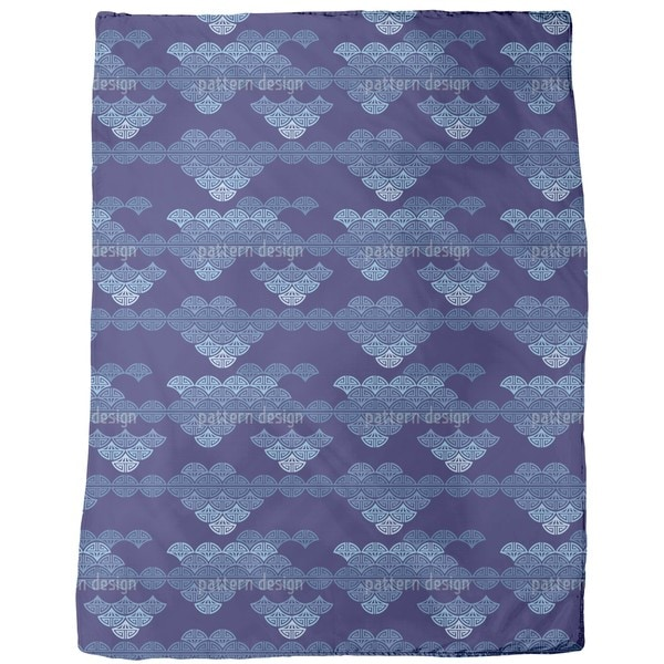 Sea of Clouds Fleece Blanket