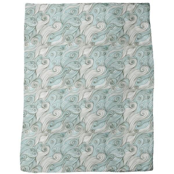 God of the Ocean Fleece Blanket