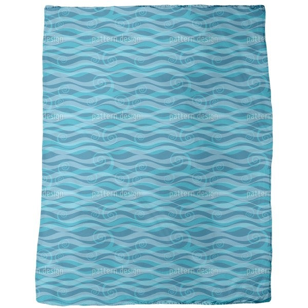 Triton Aqua Fleece Blanket