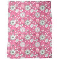 Cookidoo Pink Fleece Blanket