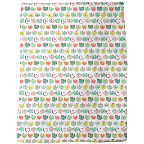 Apple Fresh Fleece Blanket