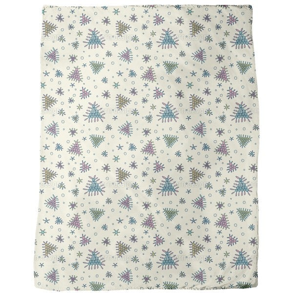Berry Fall Fleece Blanket