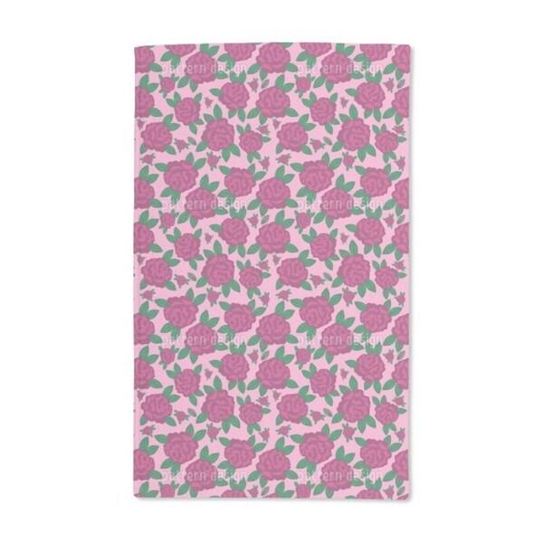 My English Rose Hand Towel (Set of 2)