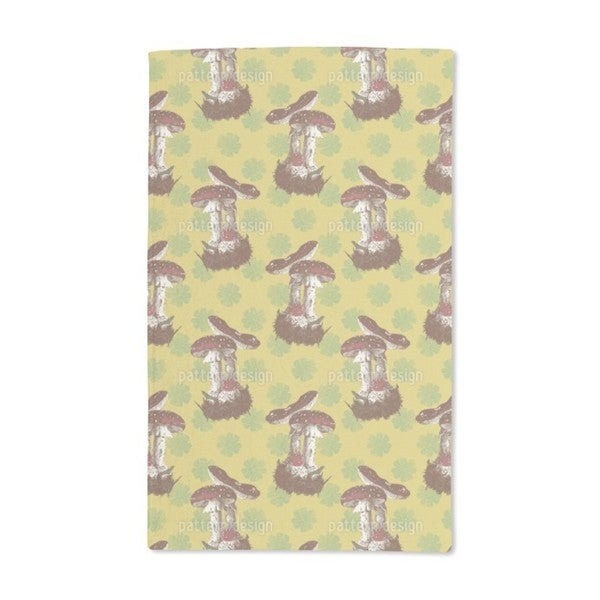 Lucky Mushrooms Hand Towel (Set of 2)