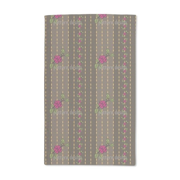 Chain of Roses Hand Towel (Set of 2)
