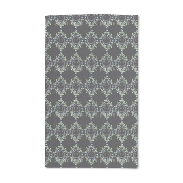 Forget-Me-Not Fence Hand Towel (Set of 2)