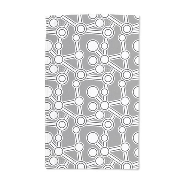 Ab Original Grey Hand Towel (Set of 2)